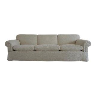 Custom Wool & Goose Down Sofa