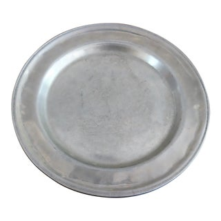 Wilton Armetale Pewter Dinner Plate
