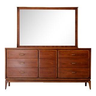 Kent Coffey Simplex II Dresser With Mirror