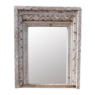 Antique Mogul Carved Doorway Mirror