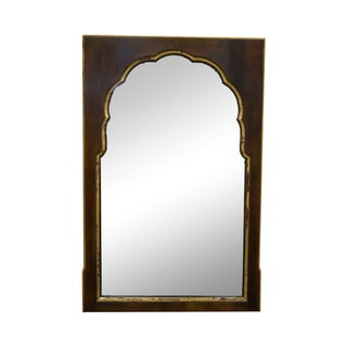 Widdicomb Vintage Walnut Partial Gilt Wall Mirror