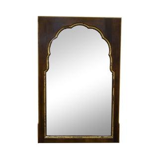 Widdicomb Vintage Walnut Partial Gilt Wall Mirror