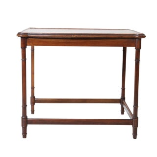 Sheraton Style Walnut End Table