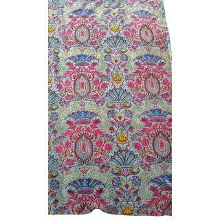 Gray/Pink Wild Velvet Fabric