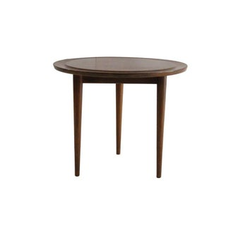 Jens Risom Mid-Century Walnut Side Table