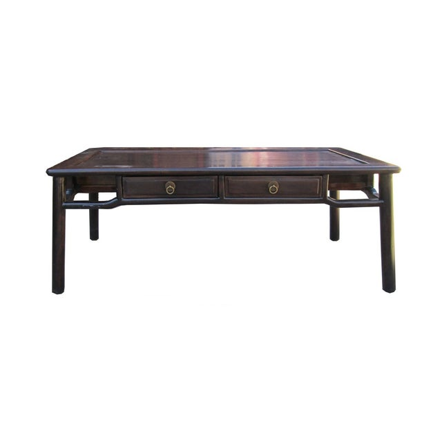 Chinese Hauli Rosewood Ming Style Coffee Table Chairish
