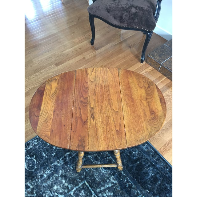 Mary & William Gateleg Side Table - Image 5 of 7