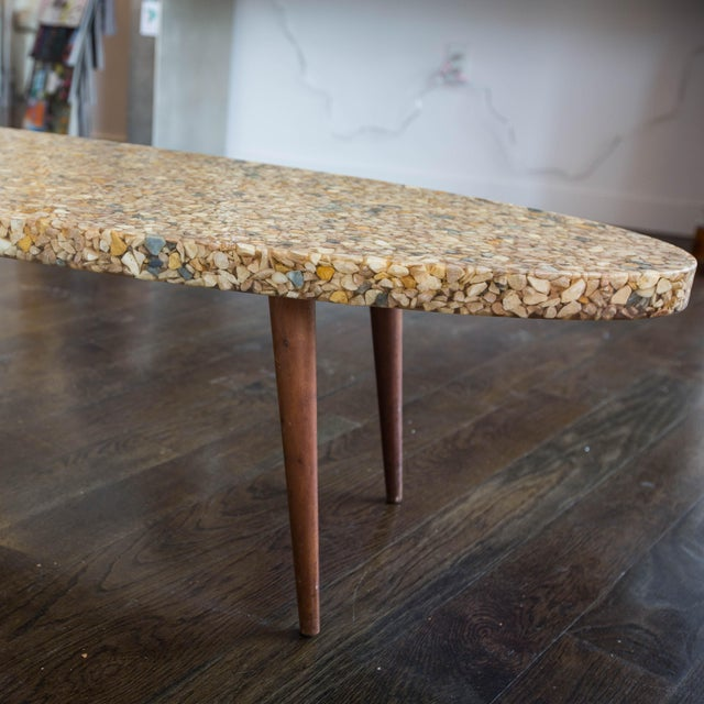Vintage River Rock Surfboard Coffee Table - Image 6 of 6