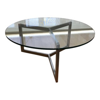 Room & Board Round Cocktail Table