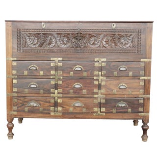 Anglo-Indian Rosewood Apothecary Dresser