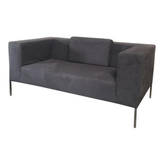 MDF Italia Allen2 Dark Gray Sofa by Bruno Fattorini