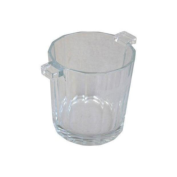 Image of Crystal Glass Moet Chandon Bottle Bucket Chiller