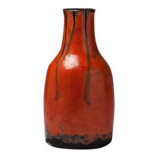 Running Glaze Bottle Vase