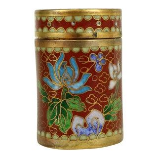 Antique 1800s Cloisonné Box
