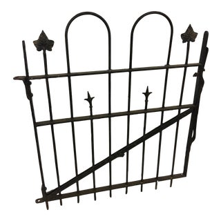 Vintage Philadelphia Iron Gate Decor