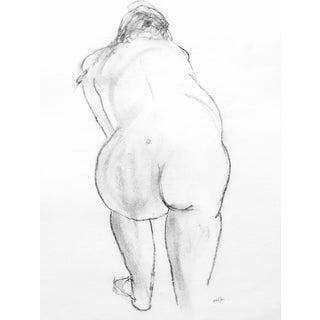 Nude Charcoal Drawing By Martha Holden