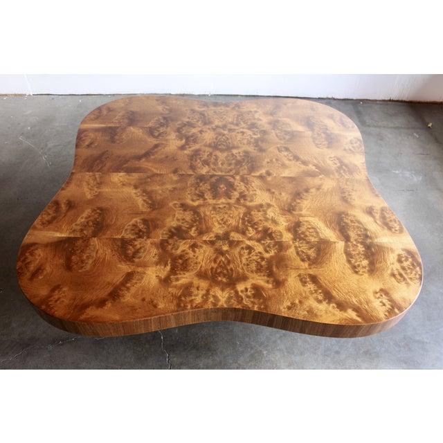 Gilbert Rohde Burl Surrealist 'Cloud' Coffee Table - Image 4 of 11