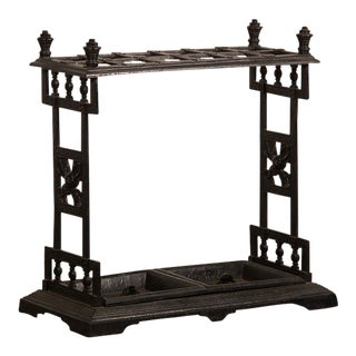 Cast iron umbrella/cane stand, England c.1850