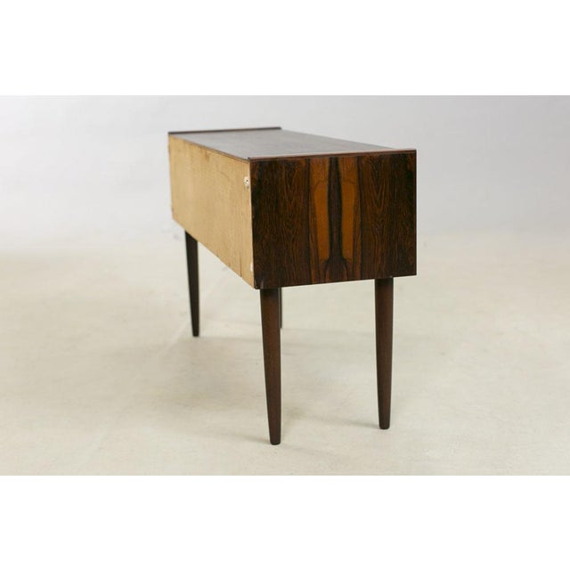 Danish Rosewood Night Stands by Kai Kristiansen - A Pair - Image 3 of 8