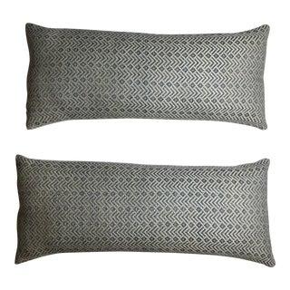 Geometric Motifs Pillows - A Pair