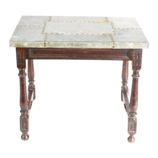Industrial English Tea Table