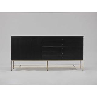 Credenza in Mahogany and Brass by Paul Mccobb