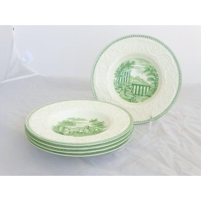 Wedgwood Creamware Rim Soup Bowls - Set of 5 - Image 2 of 7