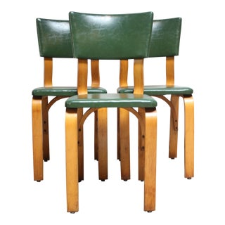 Thonet Style Bentwood Dining Chairs - Set of 3