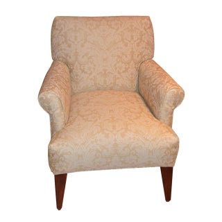 Damask Print Club Chair by Rowe Furniture