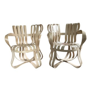 Frank Gehry Cross Check Chairs - A Pair