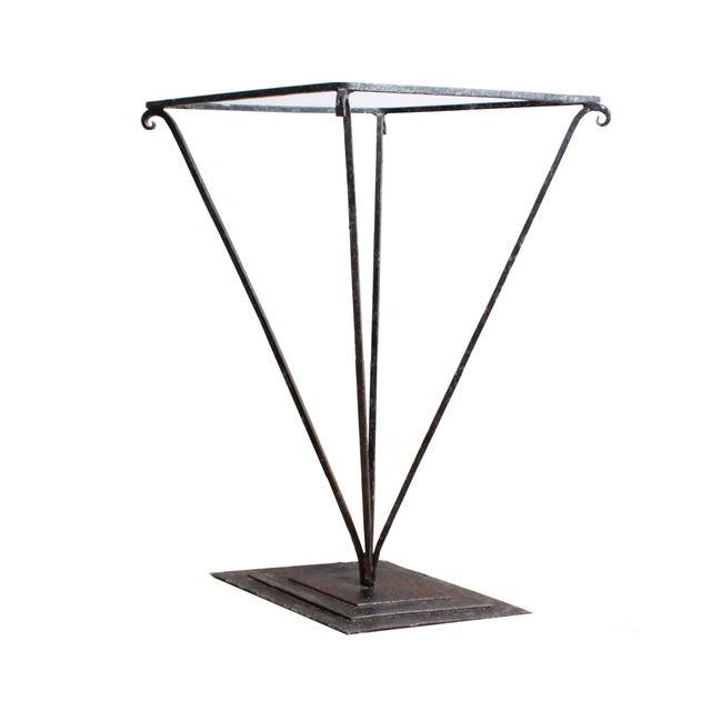 Mid-Century Iron Umbrella Stand - Image 1 of 2