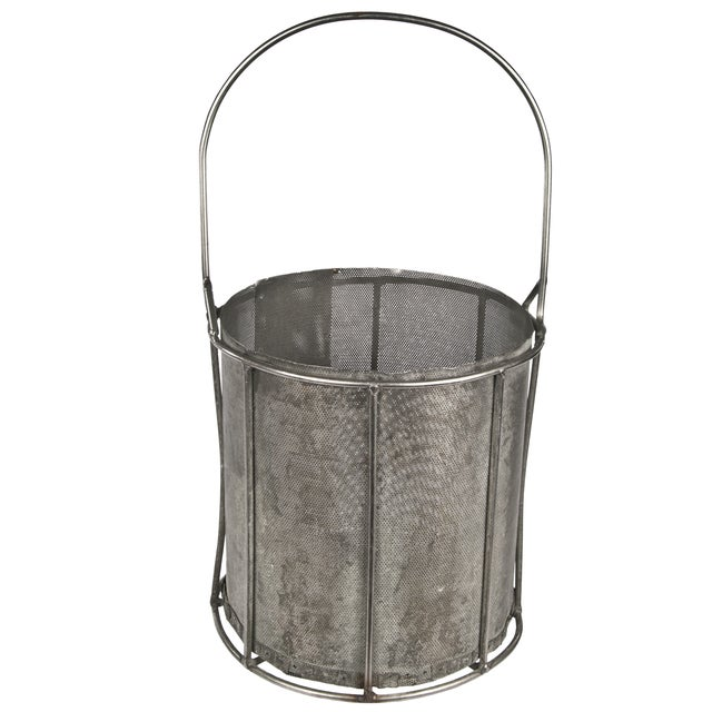 Handmade Perforated Bucket - Image 1 of 3
