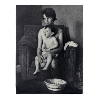 "Sheldon Brody 1970 ""Mother and Child"" Poster"
