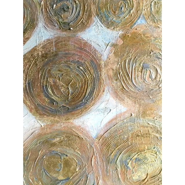 "Image of ""Golden Circles"" Painting by Bryan Boomershine"