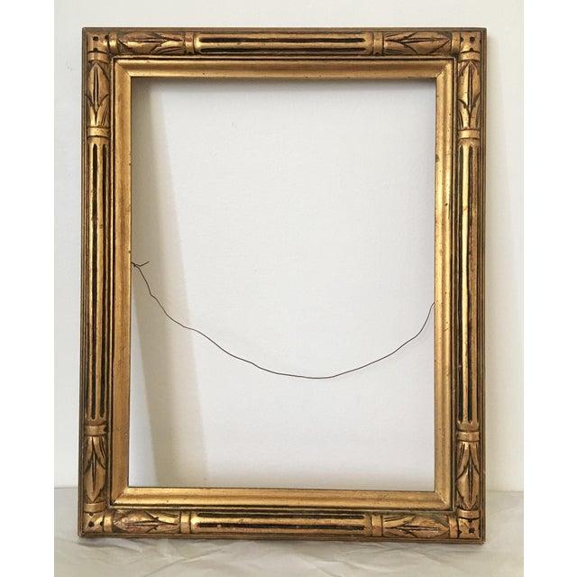 Image of Vintage Hollywood Regency Gold Frame
