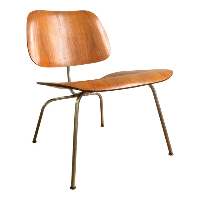 Eames Molded Plywood Lounge Chair Chairish