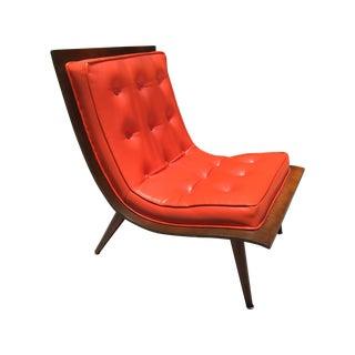 "Mid-Century Modern ""Scoop"" Chair"