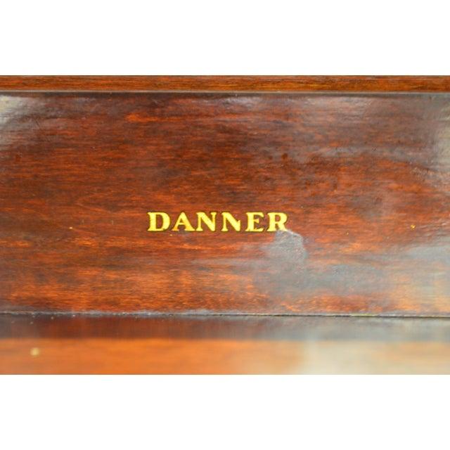 Danner Antique Mission Style Mahogany Slant Lid Writing Desk - Image 8 of 10