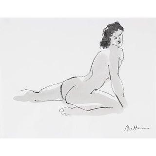 Rip Matteson Modernist Nude