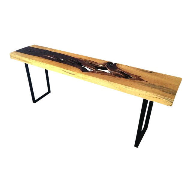 Tamarind Slab Console Table - Image 1 of 4