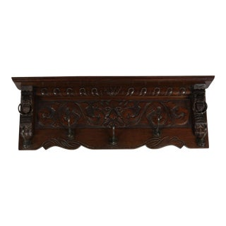 C.1890 Dutch Coat Rack