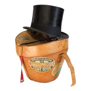 Gordon's Top Hat with Leather Carrying Case