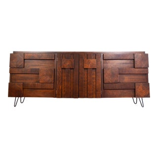 Mid-Century Lane Brutalist Dresser