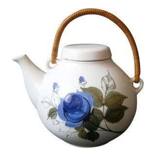Ulla Procope for Arabia Finland Floral Ceramic Teapot