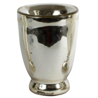 19th C. Mercury Glass Vase