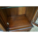 Image of Kindel Mahogany Chippendale Style China Cabinet