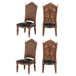 Aico Villa Valencia Side Chairs - Set of 4