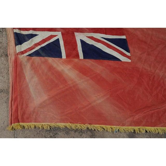 Image of Canadian Red Ensign Original C.1930s Vintage Flag