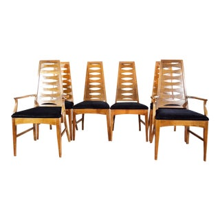 Young Manufacturing Mid-Century Dining Chairs - Set of 6