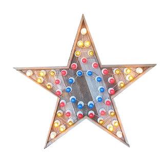 Vintage Star Wall Light